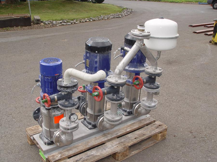 Used pump station 24867 typ movitec vsf 18 6 for Pumpen und verdichter